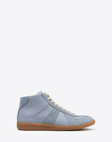 "MAISON MARGIELA Sneakers Man High-top calfskin ""Replica"" sneakers f"