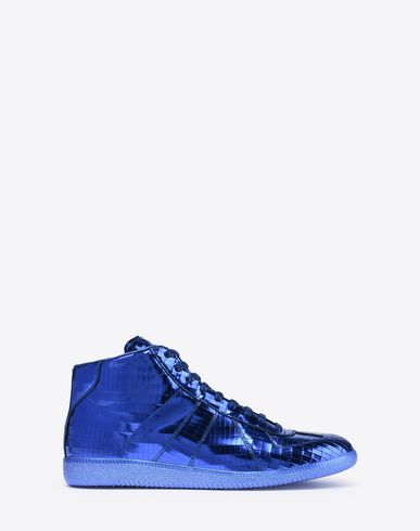 "MAISON MARGIELA Sneakers Man High-top metallic ""Replica"" sneakers f"