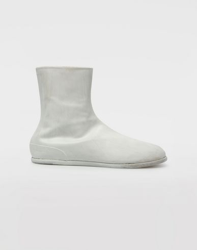 MAISON MARGIELA 「タビ」ブーツ [*** pickupInStoreShippingNotGuaranteed_info ***] ペイント レザー タビ ブーツ f