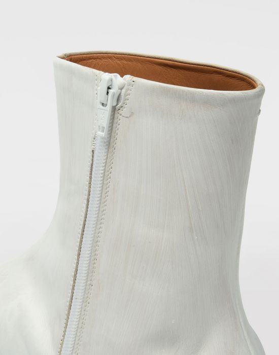 MAISON MARGIELA ペイント レザー タビ ブーツ 「タビ」ブーツ [*** pickupInStoreShippingNotGuaranteed_info ***] b