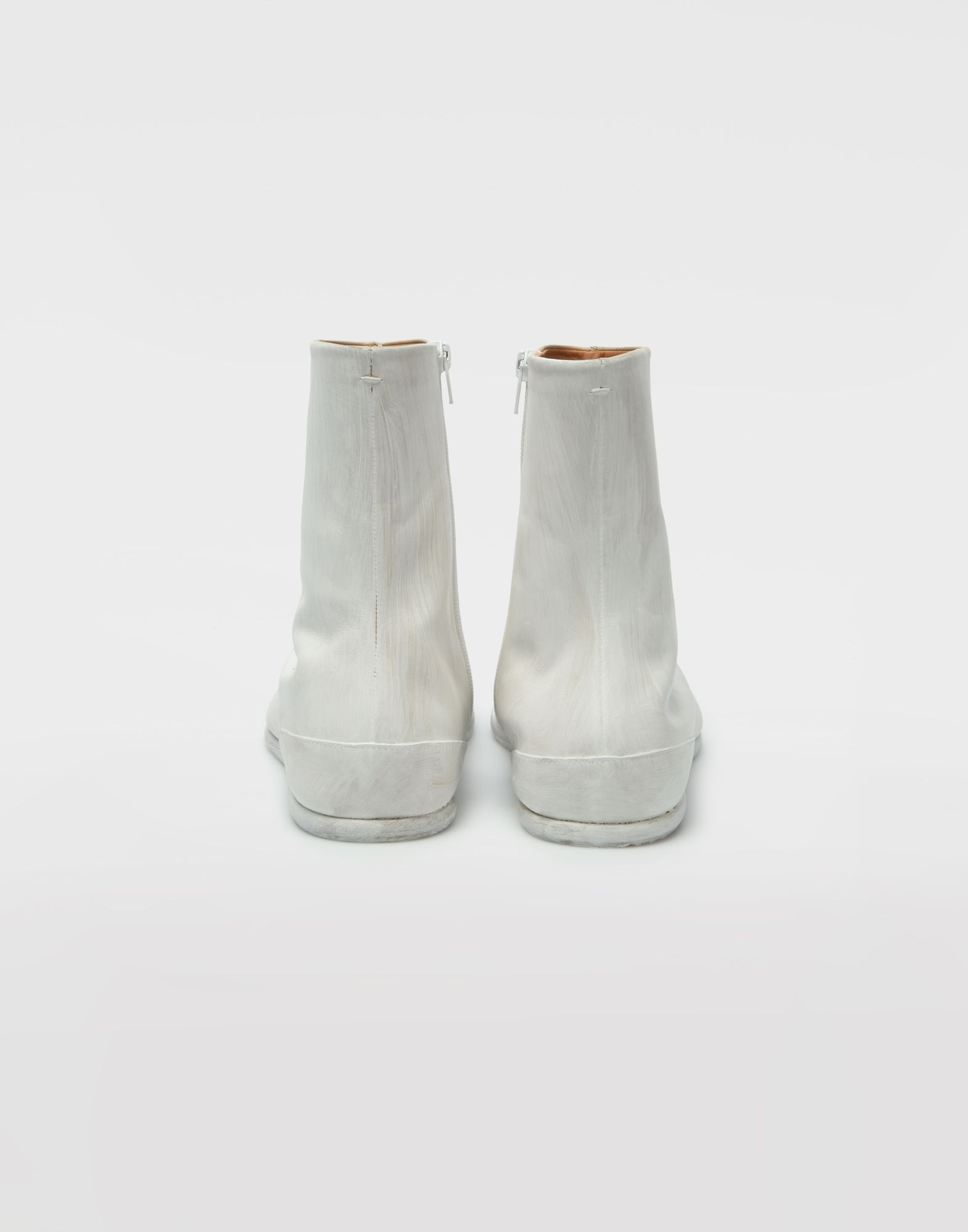 MAISON MARGIELA Painted leather Tabi boots Tabi boots Man e