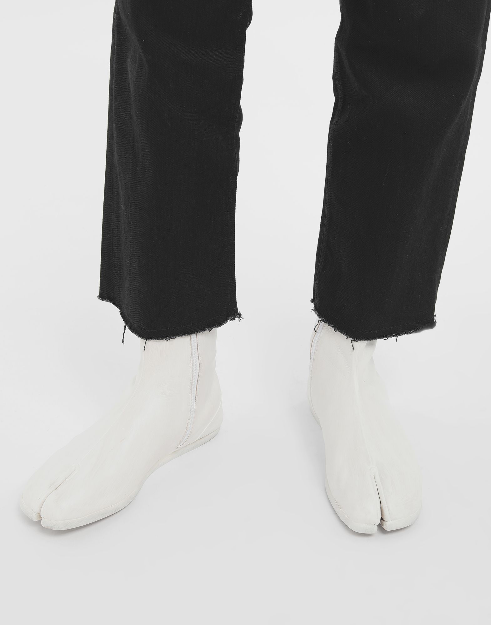 MAISON MARGIELA Painted leather Tabi boots Tabi boots & Ankle boots Man r