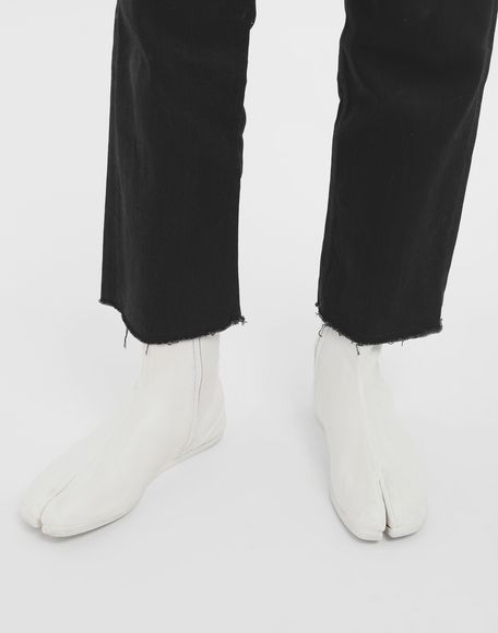 MAISON MARGIELA Painted leather Tabi boots Tabi boots Man r