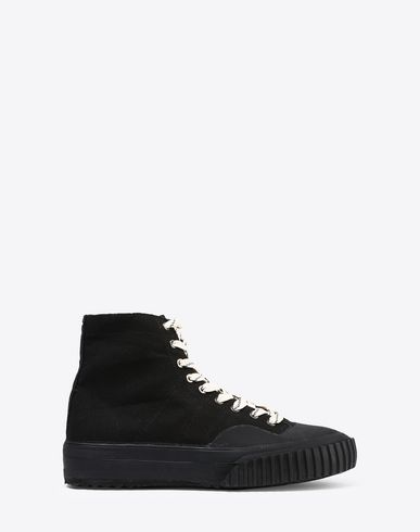 MAISON MARGIELA Sneakers U High-top canvas sneakers f