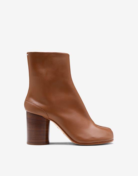 MAISON MARGIELA Tabi calfskin boots Tabi boots [*** pickupInStoreShipping_info ***] f