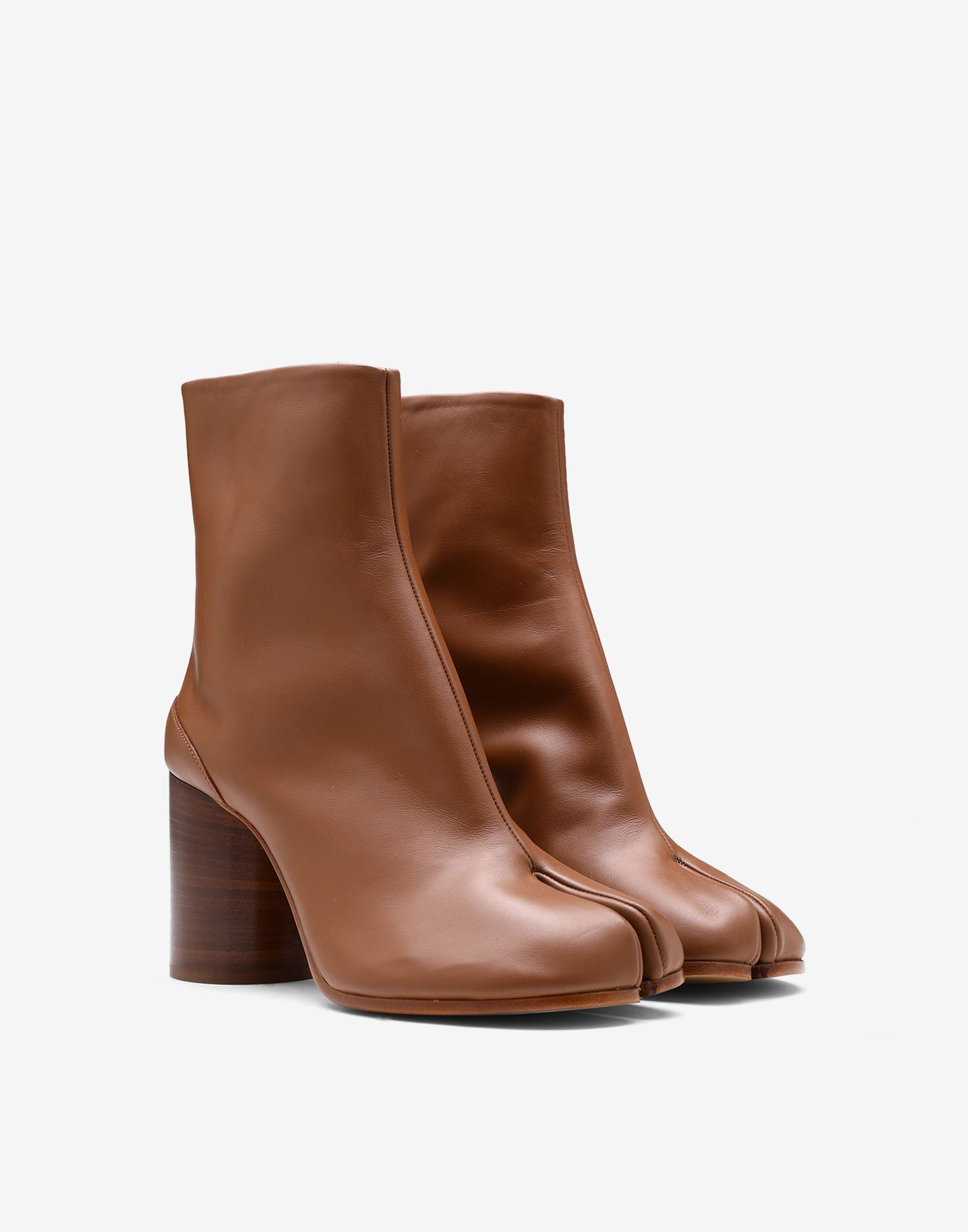 MAISON MARGIELA Tabi calfskin boots Tabi boots Woman r