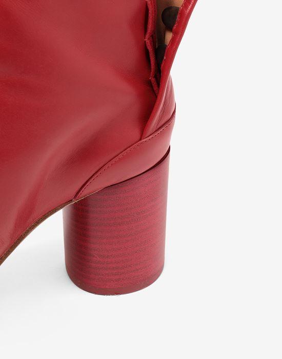 MAISON MARGIELA Tabi calfskin boots Tabi boots [*** pickupInStoreShipping_info ***] a
