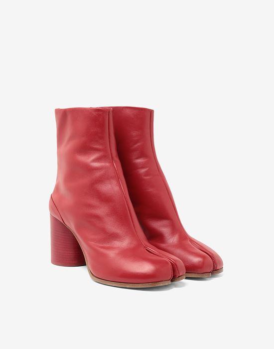 MAISON MARGIELA Tabi calfskin boots Tabi boots [*** pickupInStoreShipping_info ***] r