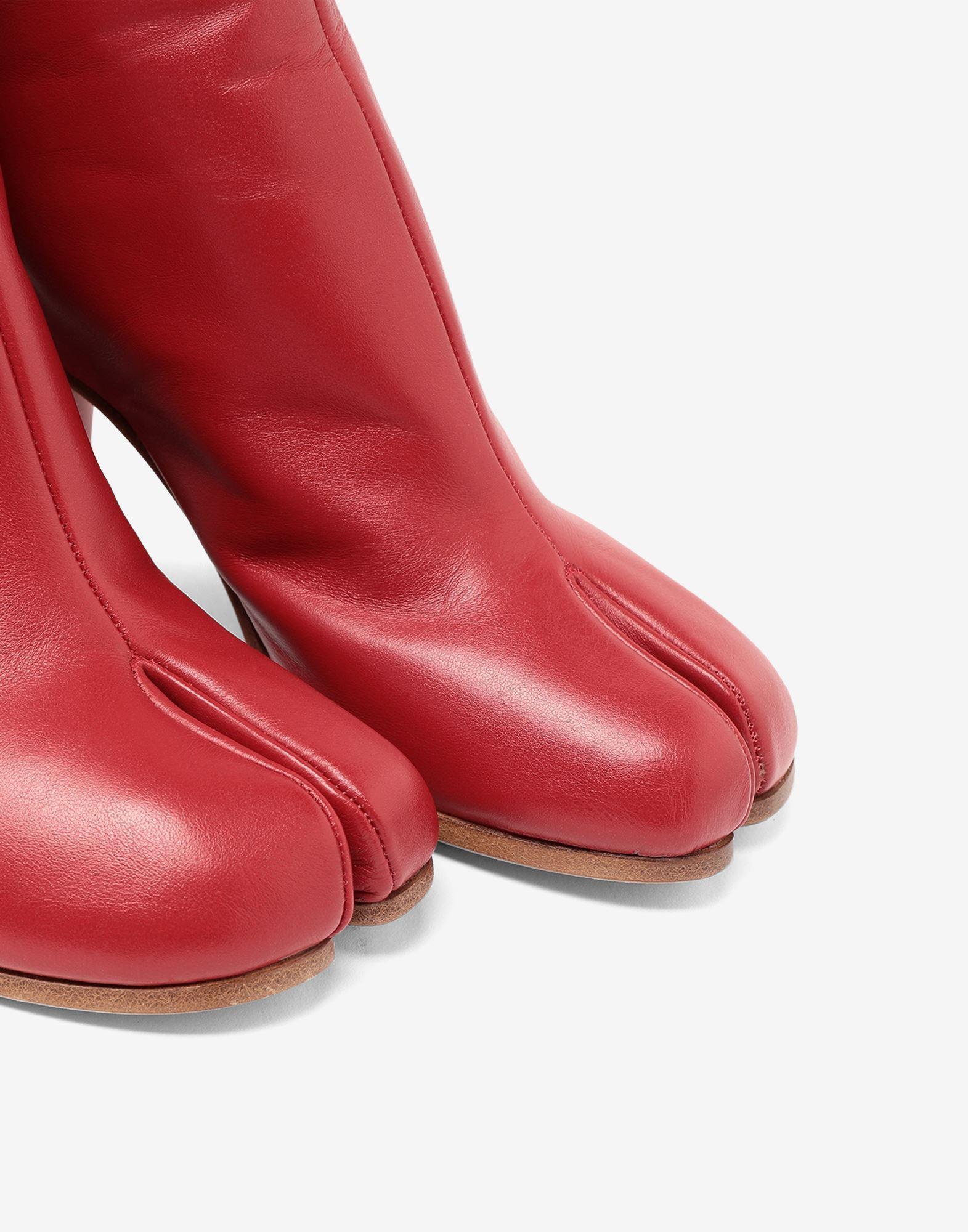 MAISON MARGIELA Tabi calfskin boots Tabi boots & Ankle boots Woman e