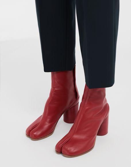 MAISON MARGIELA Tabi calfskin boots Tabi boots Woman b