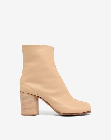 MAISON MARGIELA Tabi Stiefel aus Kalbsleder Ankle Boots Tabi Damen f