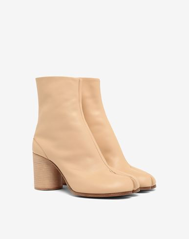 MAISON MARGIELA Ankle Boots Tabi Damen Tabi Stiefel aus Kalbsleder r