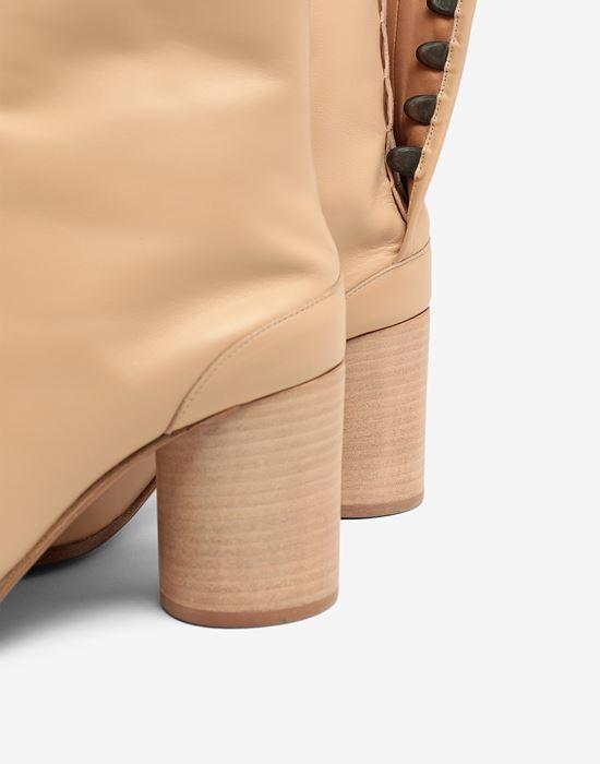 MAISON MARGIELA Calfskin Tabi boot Tabi boots D e