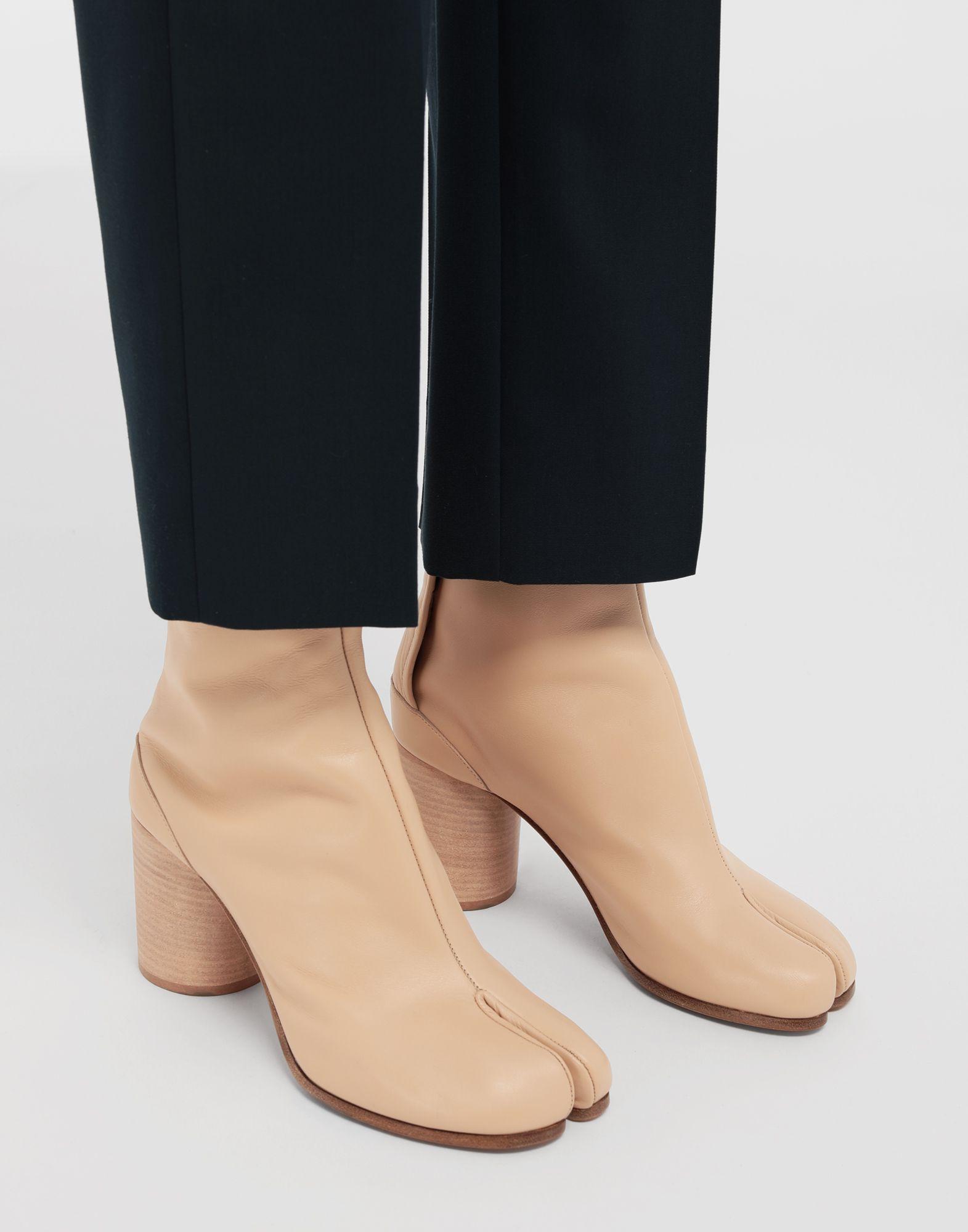 MAISON MARGIELA Tabi calfskin boots Tabi boots & Ankle boots Woman b
