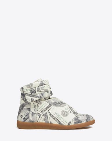 MAISON MARGIELA Sneakers U Dollar-print Future High Top sneakers f