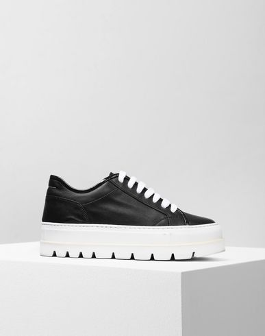 MM6 MAISON MARGIELA Sneakers D Platform calfskin sneakers f