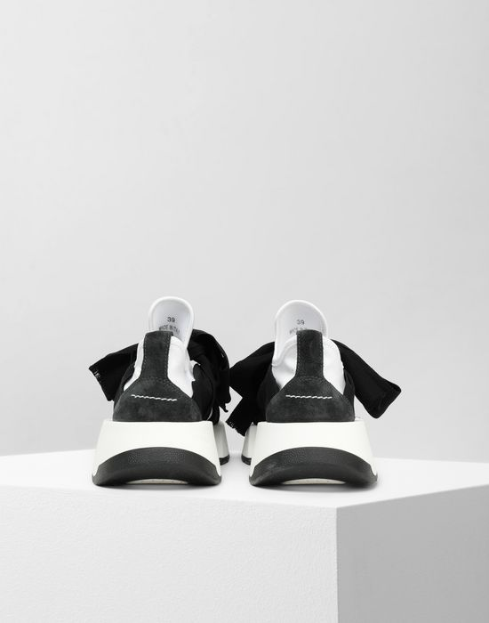 MM6 MAISON MARGIELA Bow tie sneakers Sneakers [*** pickupInStoreShipping_info ***] d