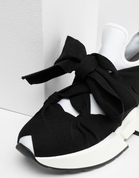 MM6 MAISON MARGIELA Bow tie sneakers Sneakers [*** pickupInStoreShipping_info ***] e