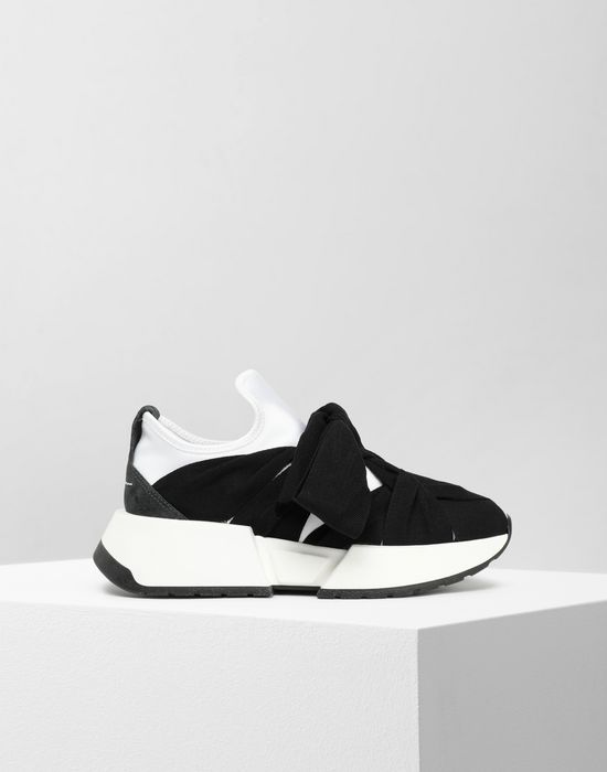 MM6 MAISON MARGIELA Bow tie sneakers Sneakers [*** pickupInStoreShipping_info ***] f