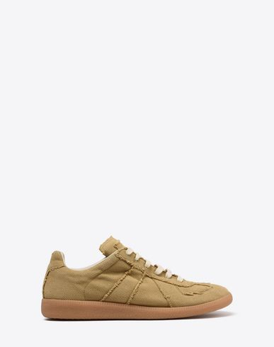"MAISON MARGIELA Sneakers Man Cotton canvas ""Replica"" sneakers f"