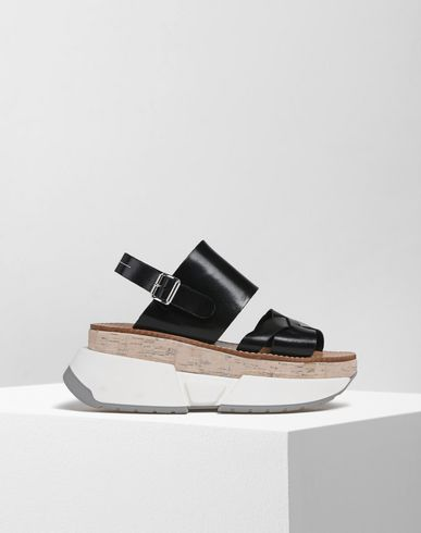 MM6 MAISON MARGIELA Sandals D Platform sandals with rubber soles f