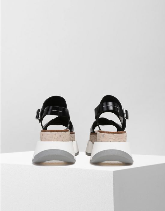 78ea8c578ad MM6 MAISON MARGIELA Platform sandals with rubber soles Sandals       pickupInStoreShipping info