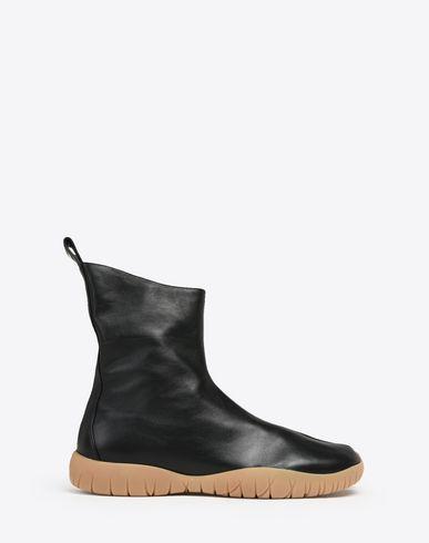 MAISON MARGIELA Sneakers U Bottes «Tabi» inspirées des tenues de plongée en cuir de veau f