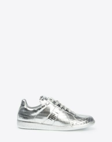 "MAISON MARGIELA Sneakers Woman Metallic ""Replica"" sneakers f"