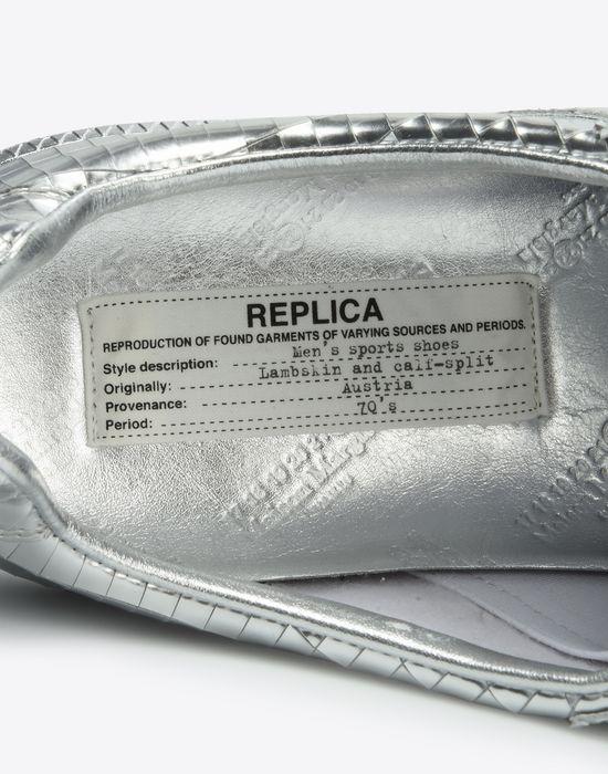 "MAISON MARGIELA Metallic ""Replica"" sneakers Sneakers [*** pickupInStoreShipping_info ***] a"