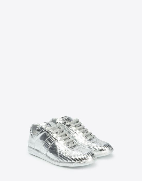 "MAISON MARGIELA Metallic ""Replica"" sneakers Sneakers [*** pickupInStoreShipping_info ***] r"