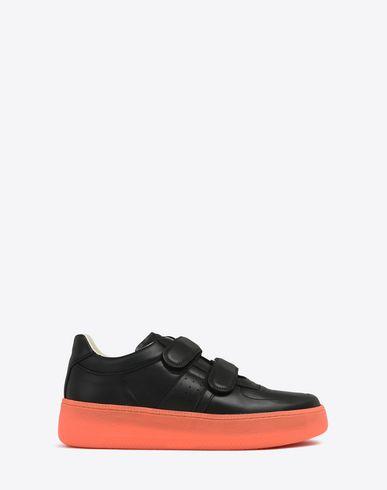 MAISON MARGIELA Sneakers U Sneakers en cuir de veau avec du velcro f