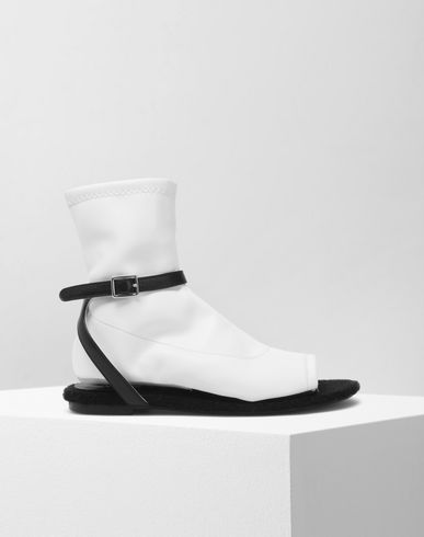 MM6 MAISON MARGIELA Ankle boots D Velcro sock sandals f