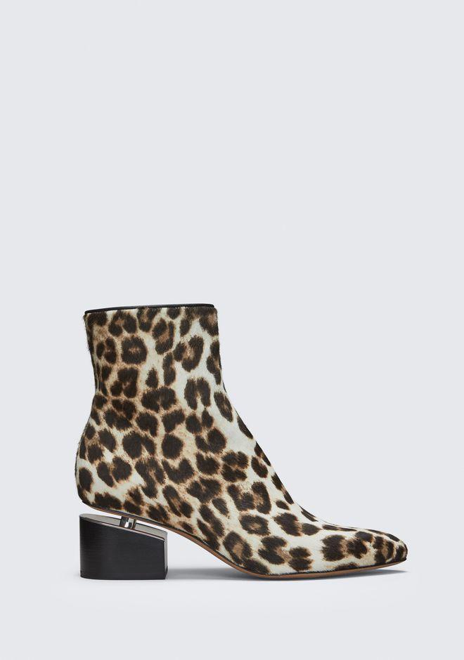 ALEXANDER WANG Boots Women JUDE LEOPARD BOOTIE