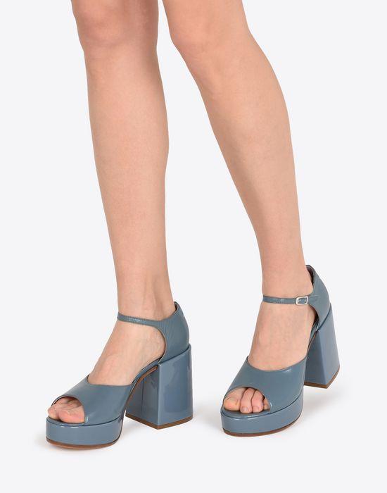 28baad04207 MM6 MAISON MARGIELA Patent platform sandals Sandals       pickupInStoreShipping info