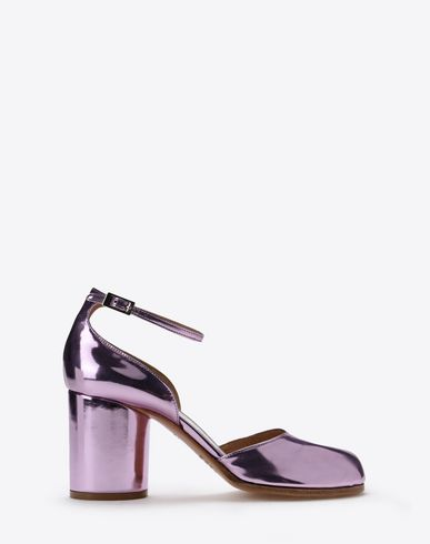 MAISON MARGIELA Sandals D Metallic Tabi pumps f