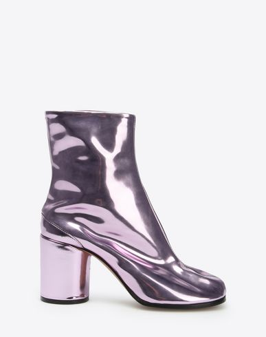 MAISON MARGIELA Ankle boots D Metallic Tabi boots f