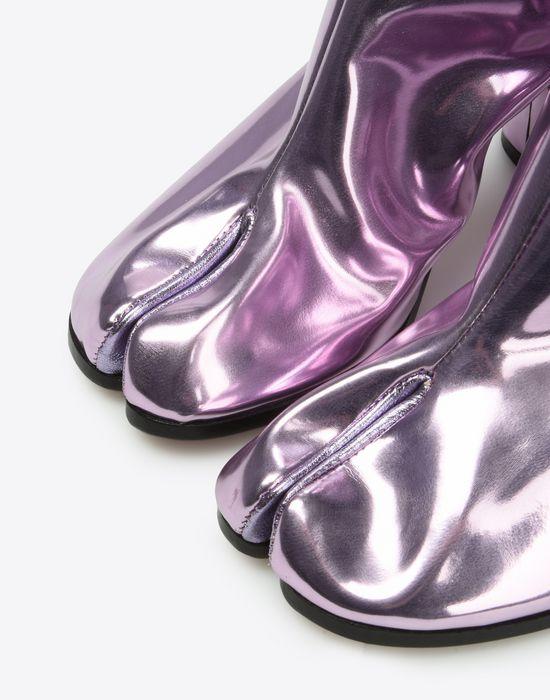 MAISON MARGIELA Metallic Tabi boots Ankle boots Woman a