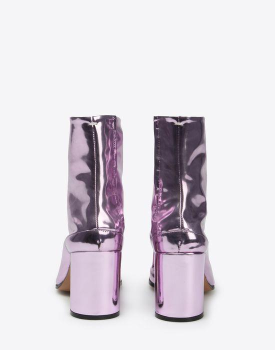 MAISON MARGIELA Metallic Tabi boots Ankle boots D d