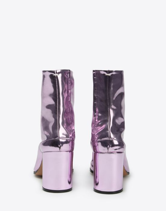 MAISON MARGIELA Metallic Tabi boots Ankle boots Woman d