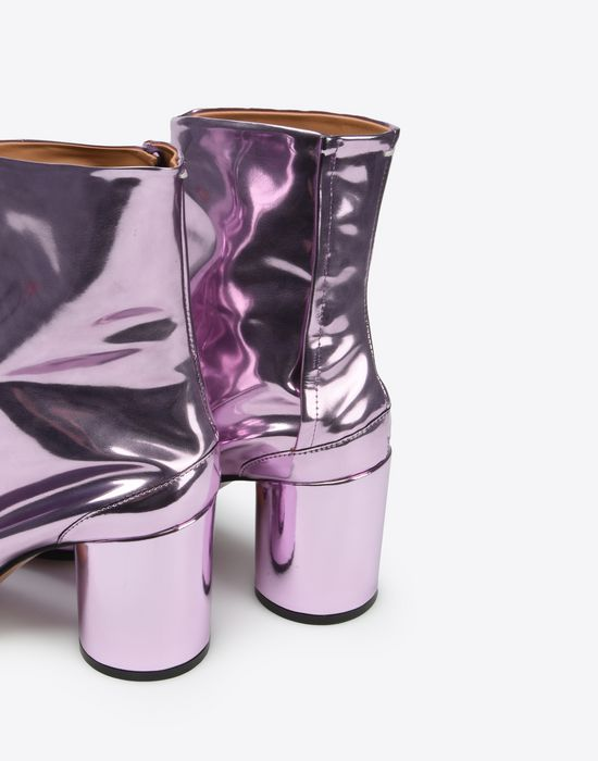 MAISON MARGIELA Metallic Tabi boots Ankle boots Woman e