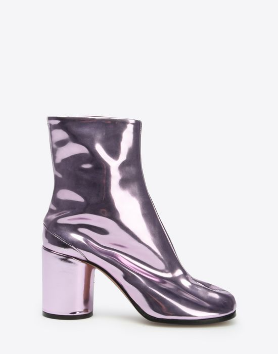MAISON MARGIELA Metallic Tabi boots Ankle boots D f