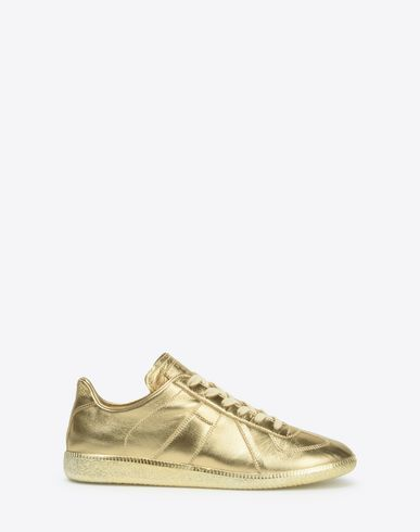 MAISON MARGIELA Sneakers Man Semi-metallic 'Replica' sneakers f