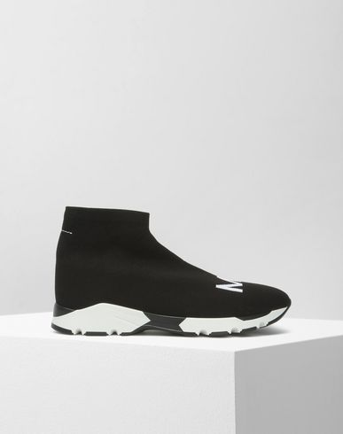 MM6 MAISON MARGIELA Sneakers Woman MM6 logo sock sneakers f