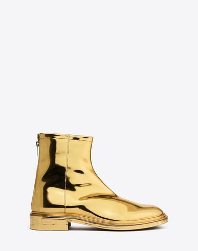 MAISON MARGIELA Ankle boots U Metallic ankle boots f