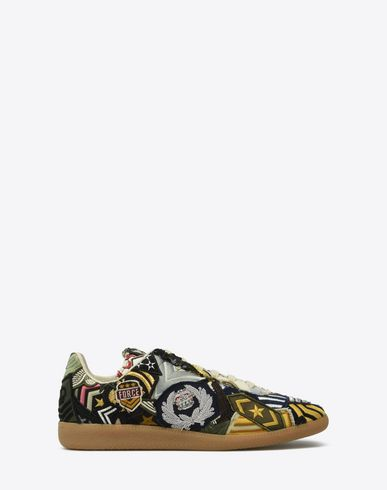 MAISON MARGIELA Sneakers Homme Sneakers « Replica » avec collage f