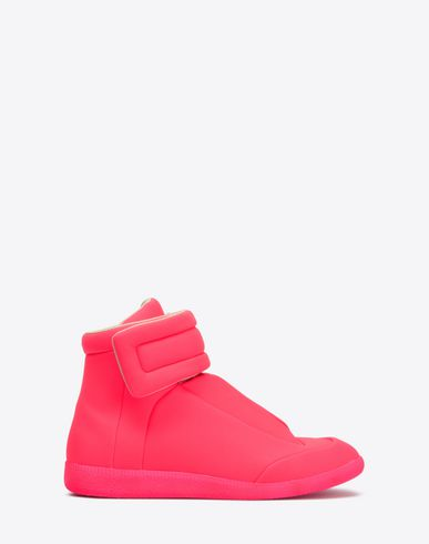 MAISON MARGIELA Sneakers U Fluorescent calfskin 'Future High Top' sneakers f