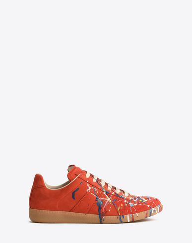 MAISON MARGIELA Sneakers Homme Sneakers « Replica » « Paint drop » f