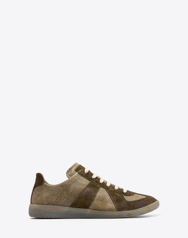 MAISON MARGIELA Sneakers Homme Sneakers «Replica» en cuir de veau f