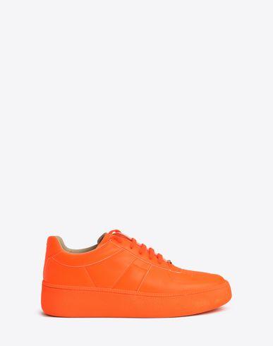 MAISON MARGIELA Sneakers Man Fluorescent calfskin sneakers f