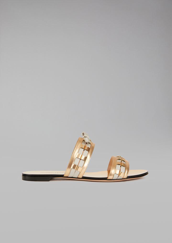 zapatos oxford de piel  Mujer   Mujer Giorgio Armani 8946df